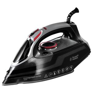 Fier de calcat RUSSELL HOBBS Power Steam Ultra 20630-56, 350ml, 210g/min, 3100W, talpa ceramica, negru