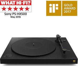 Pick-up SONY PS-HX500, Hi-Res, USB, negru
