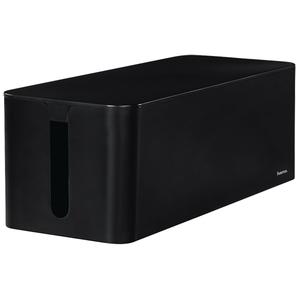 Caseta pentru organizare cabluri HAMA Maxi 20664, negru