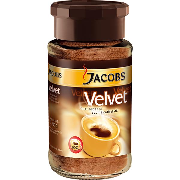Cafea instant JACOBS Velvet, 200g