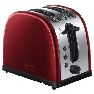 Prajitor de paine RUSSELL HOBBS 21291-56, 1100W, rosu