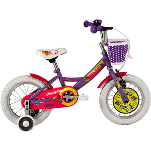 "Bicicleta pentru copii DHS Countess 1402, 14"", violet"