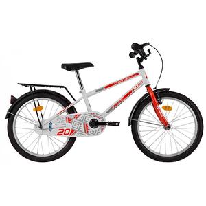 """Bicicleta pentru copii DHS Travel 2001, 20"""",  alb"""