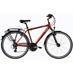 """Bicicleta de oras DHS Travel 2857, 28"""", maro"""