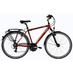 Bicicleta de oras DHS Travel 2857, 520mm, maro
