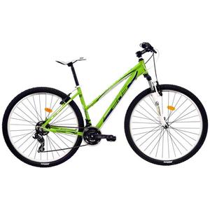 """Bicicleta Mountain Bike DHS Terrana 2922, 29"""", verde-turcoaz"""
