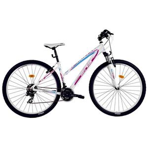 "Bicicleta Mountain Bike DHS Terrana 2922, 29"", alb-roz"