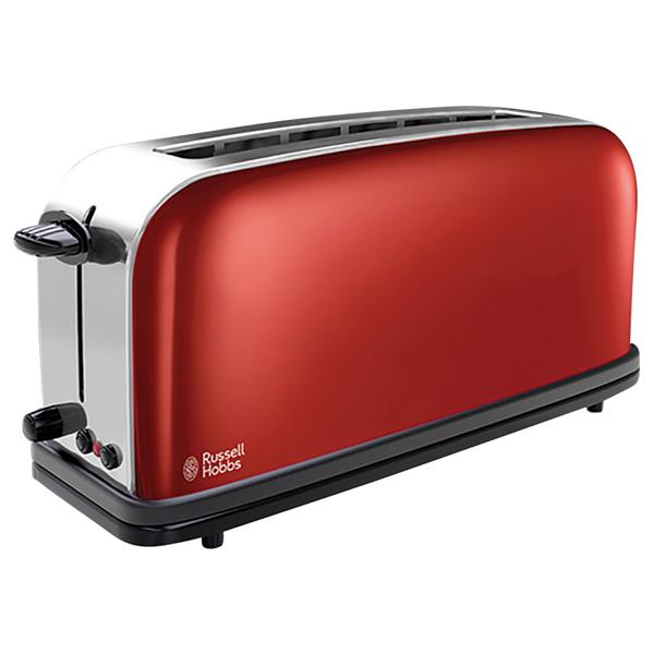 Prajitor de paine RUSSELL HOBBS 21391-56, 1100W, rosu