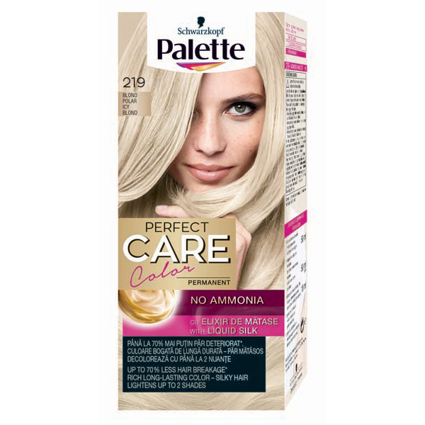 Vopsea De Par Palette Perfect Care Creme 219 Blond Polar 115ml