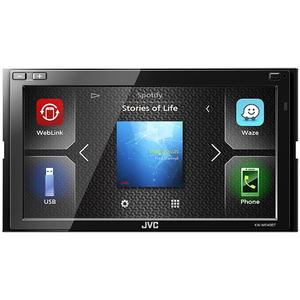 Media receiver auto JVC KW-M540BT, BT, USB, 4x50W, Waze