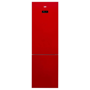 Combina frigorifica NoFrost BEKO RCNA400E20ZGR, 347l, 201 cm, A+, rosu