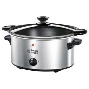 Slow Cooker RUSSELL HOBBS Cook@Home Searing 22740-56, 3.5l, 2 setari gatit, argintiu