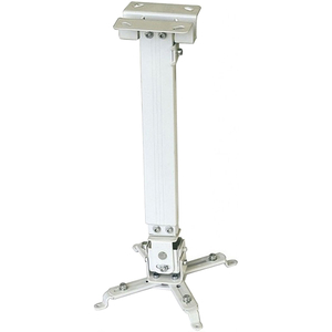 Suport tavan pentru videoproiector SOPAR Tapa 23054, 430-650 mm, alb