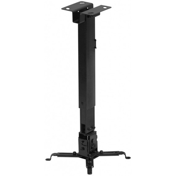 Suport tavan pentru videoproiector SOPAR Tapa 23055, 430-650 mm, negru