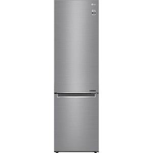 Combina frigorifica LG GBB62PZJZN, 384 l, 203 cm, A++, argintiu
