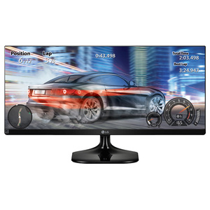 "Monitor LED IPS LG 25UM58-P, 25"", UltraWide Full HD, negru"