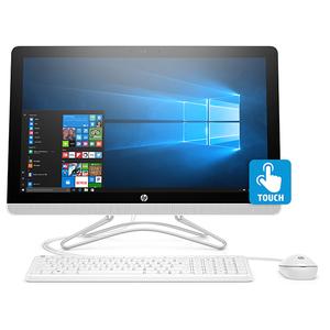 """Sistem PC All in One HP 24-f0008nq, 23.8"""" IPS Full HD Touch, Intel Core i5-8250U pana la 3.4GHz, 4GB, 1TB, NVIDIA GeForce MX110 2GB, Windows 10 Home"""