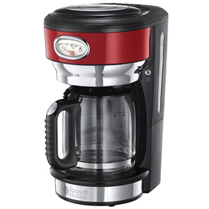 Cafetiera RUSSELL HOBBS Retro Ribbon 21700-56, 1.25l, 1000W, rosu
