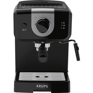 Espressor manual KRUPS Opio XP320830, 1.5l, 1050W, 15 bari, negru