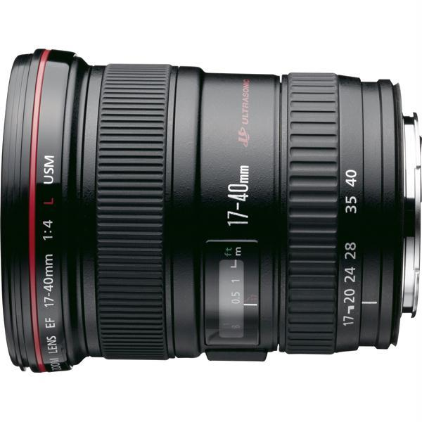 Obiectiv foto CANON EF 17-40mm f/4 L USM