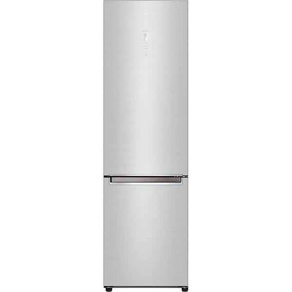 Combina frigorifica LG GBB92STAXP, No Frost, 384 l, H 203 cm, Clasa A+++, Smart Diagnosis, Wi-Fi, argintiu