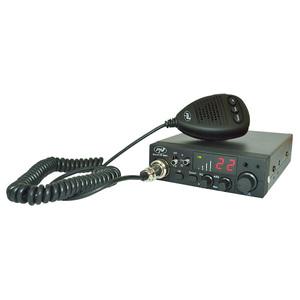 Kit Statie radio CB PNI ESCORT HP 8001 ASQ + Antena CB PNI ML70
