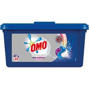 Detergent capsule OMO Ultimate Color, 30 capsule