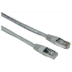 Cablu de retea STP Cat5e HAMA 30593, 5m, gri