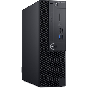 Sistem Desktop PC DELL OptiPlex 3070 SFF, Intel Core i3-9100 pana la 4.2GHz, 8GB, SSD 256GB, Intel UHD Graphics 630, Ubuntu