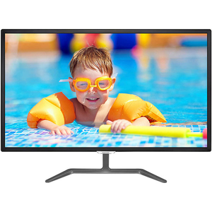 "Monitor LED IPS PHILIPS 323E7QDAB, 31.5"", Full HD, 60 Hz, negru"