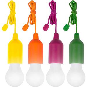 Set 4 lampi LED MEDIASHOP HandyLux M13485, Galben, Orange, Verde, Mov