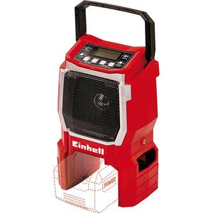Radio portabil EINHELL TE-CR 18 Li-Solo, FM/AM, rosu