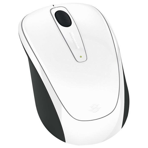 Mouse Wireless MICROSOFT Mobile 3500, 1000 dpi, alb