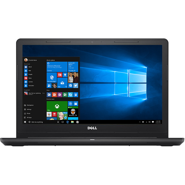 "Laptop DELL Inspiron 3573, Intel® Celeron® N4000 pana la 2.6GHz, 15.6"" HD, 4GB, 500GB, Intel® UHD Graphics 600, Windows 10 Home, negru"