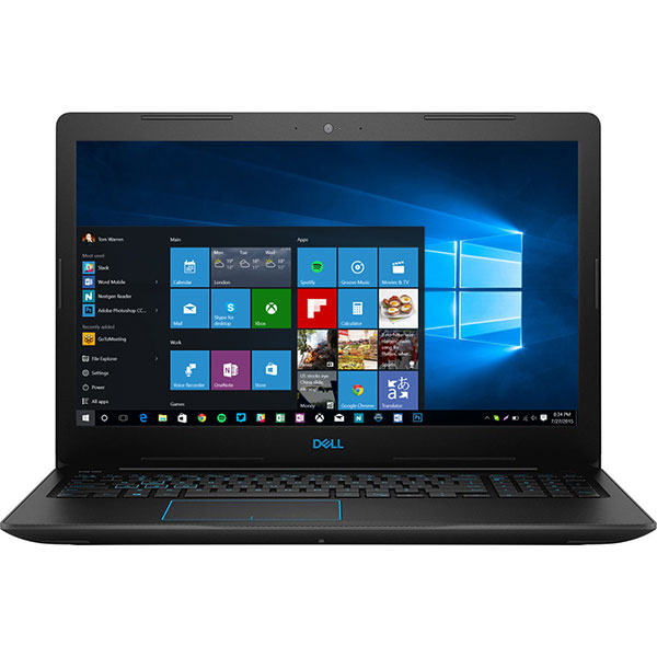 "Laptop Gaming DELL G3 3579, Intel Core i5-8300H pana la 4.0GHz, 15.6"" Full HD, 8GB, SSD 256GB, NVIDIA GeForce GTX 1050 Ti 4GB, Windows 10 Home, Negru"