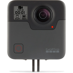 Camera video sport 360 GoPro Fusion CHDHZ-103, 5.2K, 18MP, negru-gri