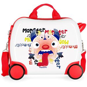 Troler copii MOVOM Monster 37210.65, 41cm, multicolor
