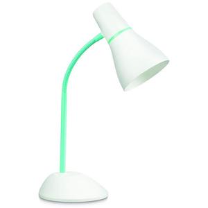 Lampa de birou PHILIPS 71567/33/PN, 11W, E27, verde-alb