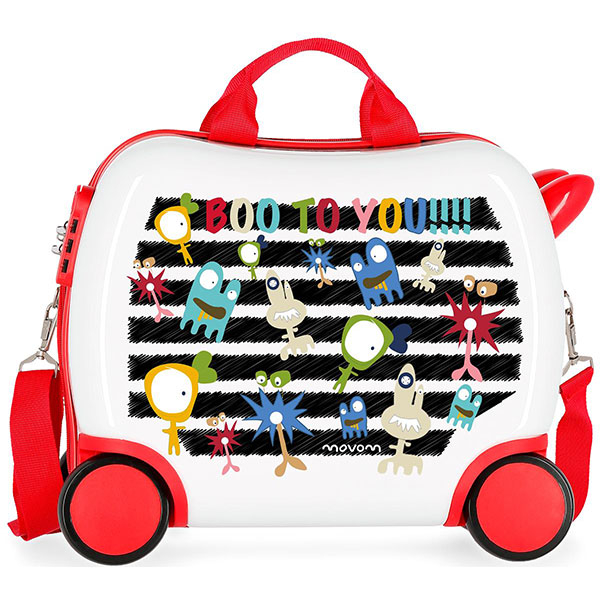 Troler copii MOVOM Boo to You 37210.66, 41 cm, multicolor