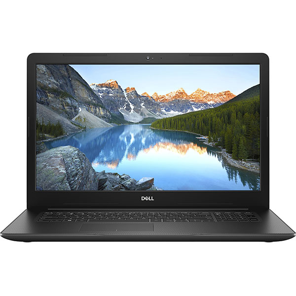 "Laptop DELL Inspiron 3780, Intel Core i7-8565U pana la 4.6GHz, 17.3"" Full HD, 8GB, 1TB + SSD 128GB, AMD Radeon 520 2GB, Ubuntu, Negru"