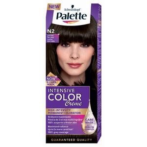 Vopsea de par PALETTE Intensive Color Creme, N2 Saten inchis, 110ml