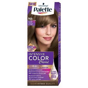 Vopsea de par PALETTE Intensive Color Creme, N6 Blond Mediu, 110ml