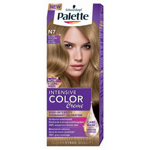 Vopsea de par PALETTE Intensive Color Creme, N7 Blond Deschis, 110ml