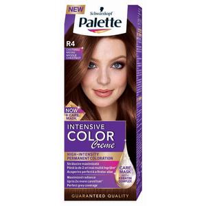 Vopsea de par PALETTE Intensive Color Creme, R4 Castaniu Mediu, 110ml