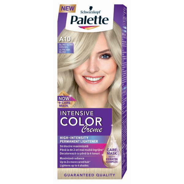 Vopsea De Par Palette Intensive Color Creme A10 Blond Cenusiu 110ml