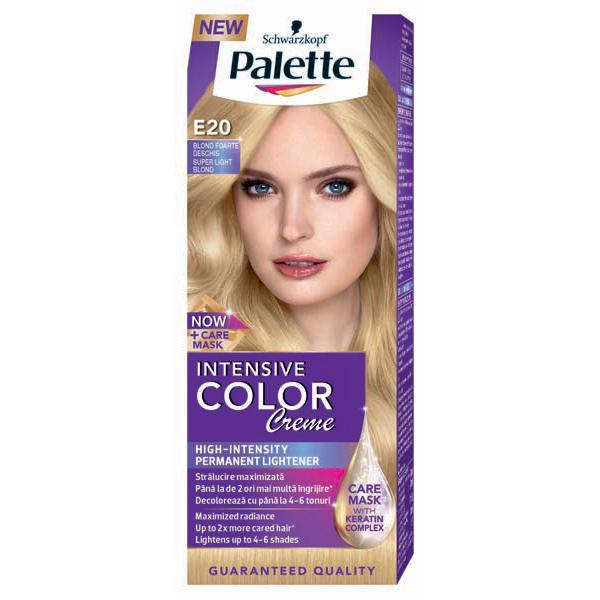 Vopsea De Par Palette Intensive Color Creme E20 Blond Foarte