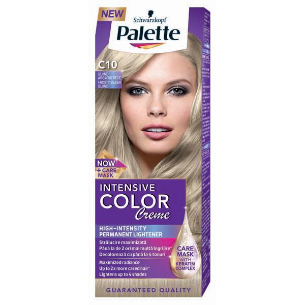 Vopsea De Par Palette Intensive Color Creme C10 Blond Argintiu
