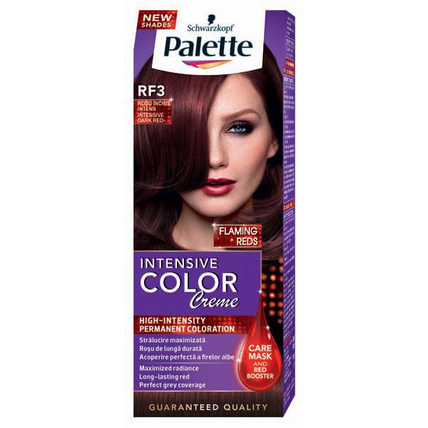 Vopsea De Par Palette Intensive Color Creme Rf3 Rosu Inchis 110ml