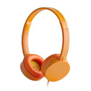 Casti ENERGY SISTEM Colors ENS394883, Cu Fir, On-Ear, portocaliu