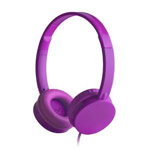 Casti ENERGY SISTEM Colors ENS394913, Cu Fir, On-Ear, Microfon, mov